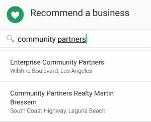 How to Find or Give Recommendations on Nextdoor. Recommending a business on Nextdoor. Select a category. How to give recommendations on Nexdoor.