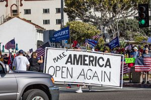 Protesters Visit Laguna Beach