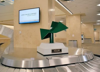 New Sculpture Brings Creative Sense of Flight to John Wayne Airport